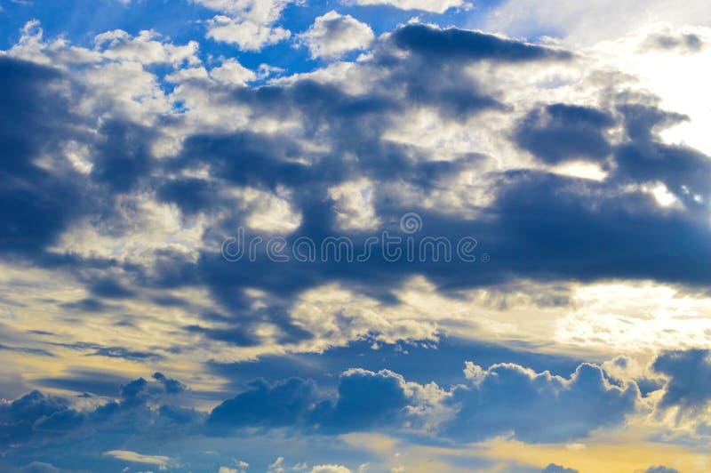 Quase céu foto de stock