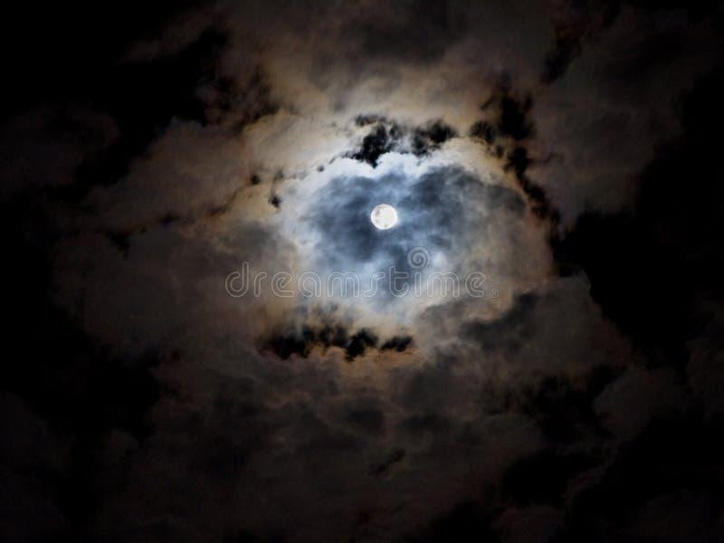 Quasi mezzanotte fotografie stock libere da diritti