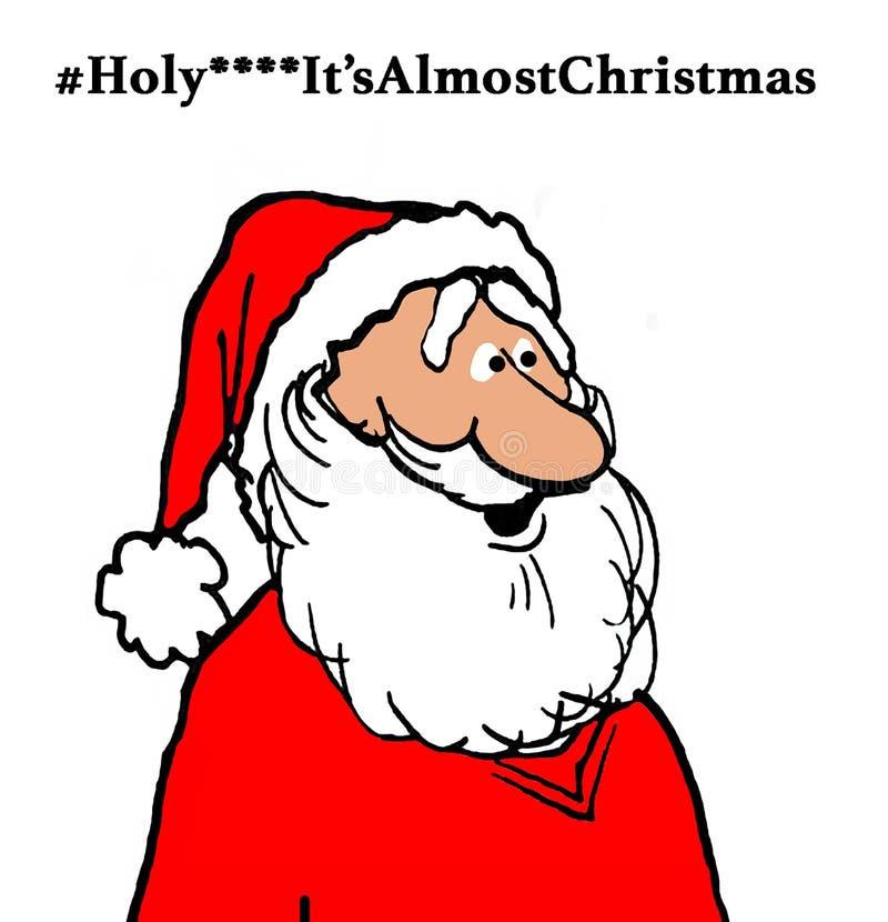 Quasi Natale illustrazione vettoriale