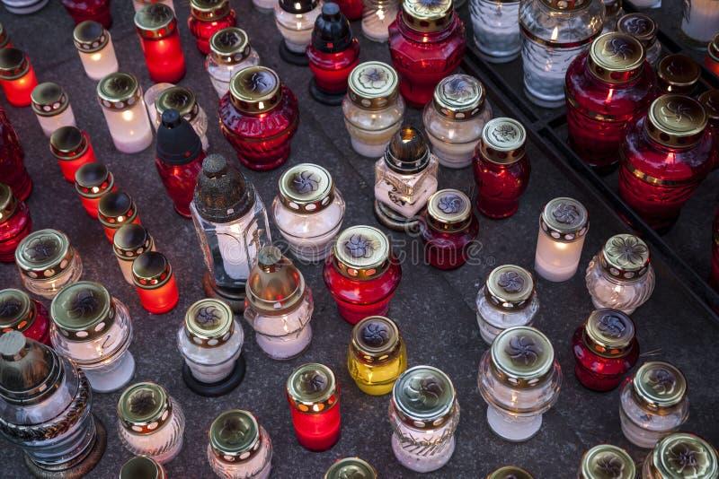 Quatre bougies images stock