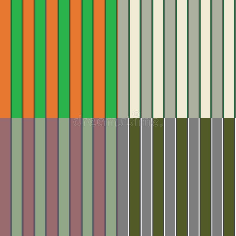 Download Quatre Configurations Irlandaises Sans Joint De Piste Illustration Stock - Image: 23318286