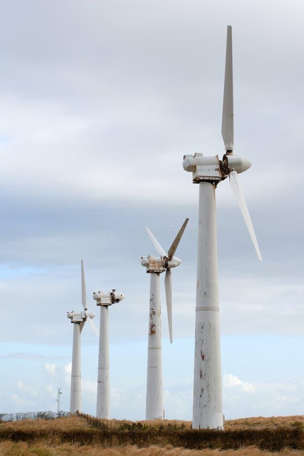 Quatre Générateurs D'énergie éolienne Photos Gratuites