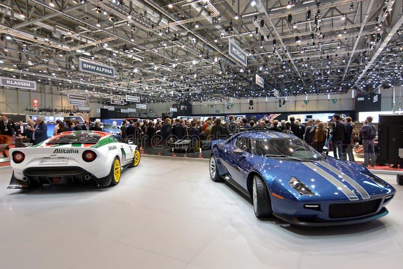 quatre-vingt-dix-neuvi?me Salon de l'Automobile international de Gen?ve - nouveau Stratos image stock