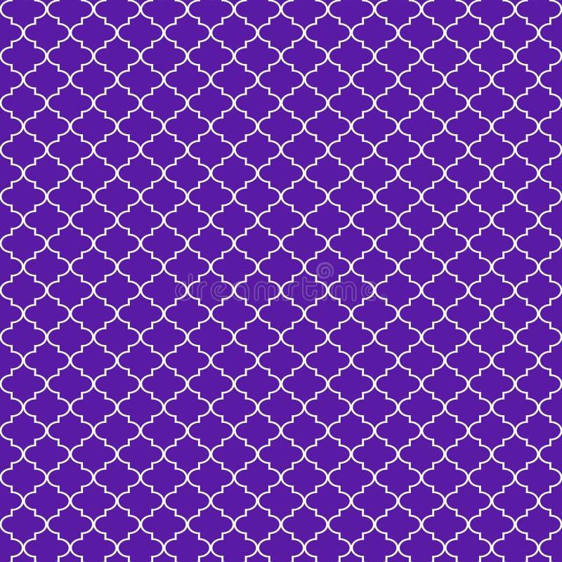 Quatrefoil naadloos patroon royalty-vrije illustratie
