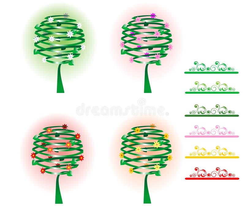 Quatro árvores