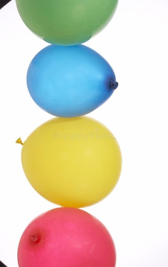 Quatro balões fotos de stock