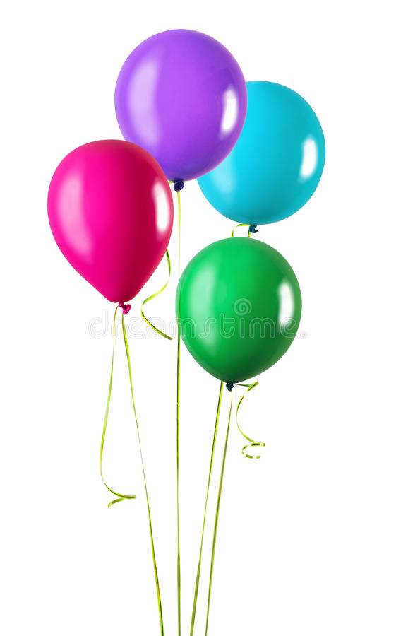 Quatro balões foto de stock
