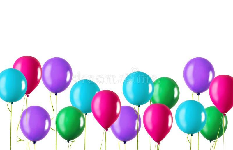 Quatro balões imagem de stock royalty free