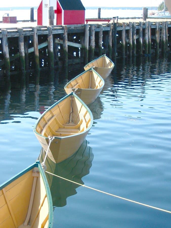 Quatro Barcos Fotos de Stock Royalty Free