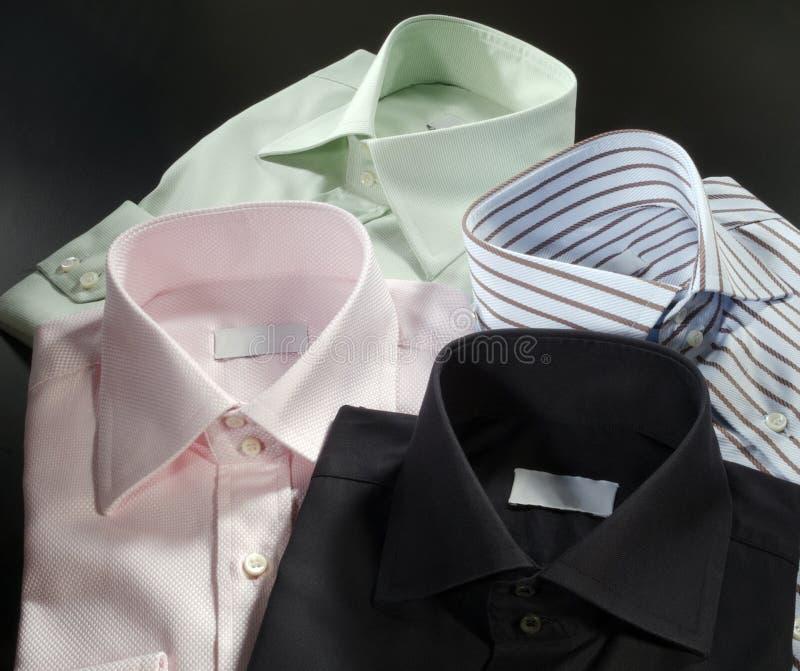Quatro camisas dos homens fotos de stock royalty free