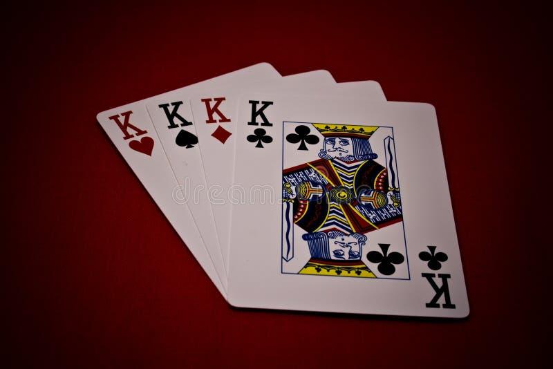 Quatro do reis imagem de stock royalty free