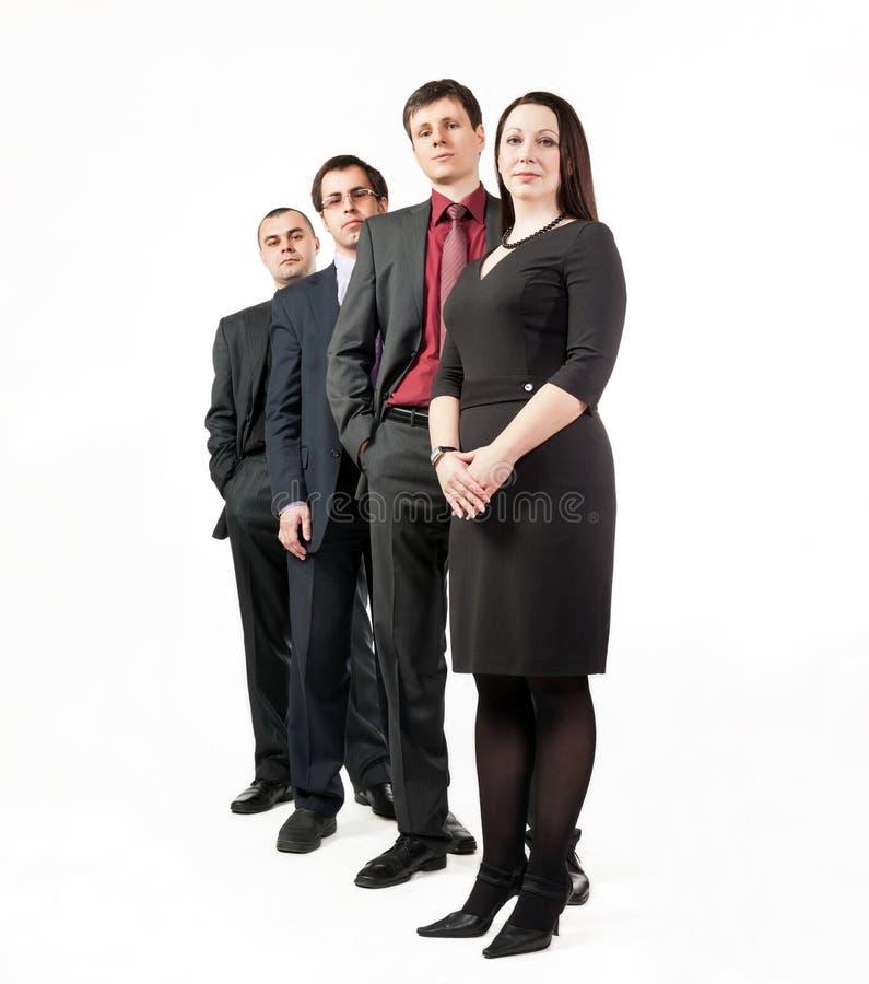 Quatro executivos foto de stock