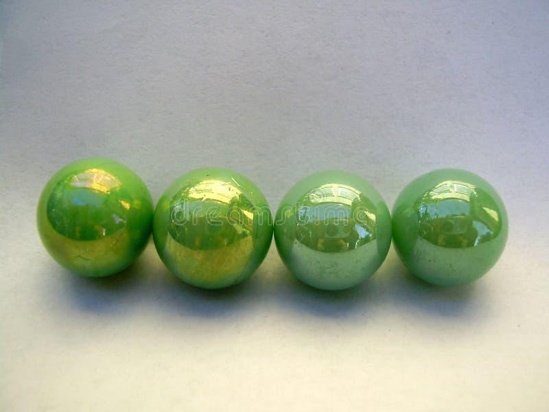 Quatro mármores imagens de stock royalty free