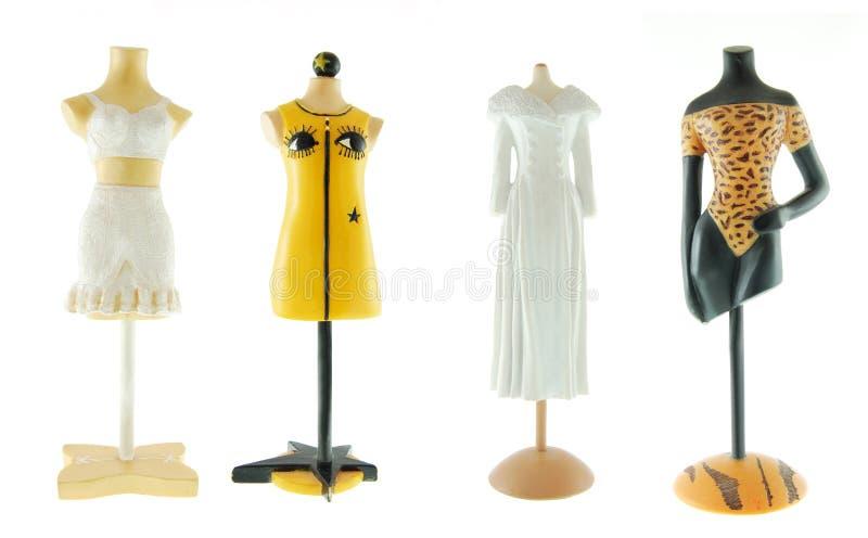 Quatro mannequins fêmeas imagem de stock