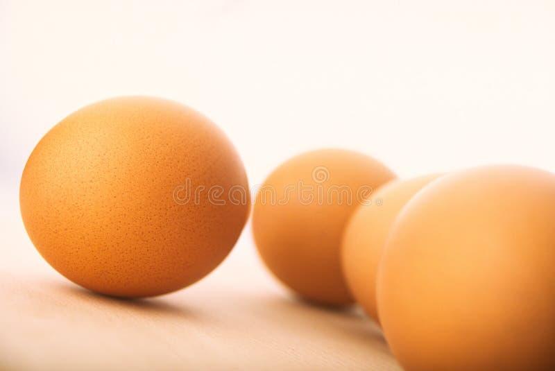 Quatro ovos imagens de stock royalty free