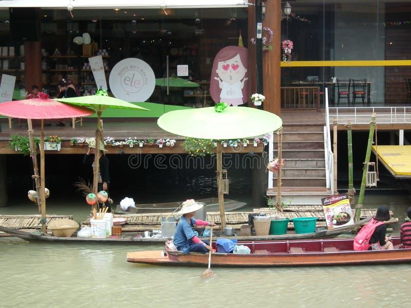 Quatro regiões que flutuam o mercado Pattaya imagens de stock