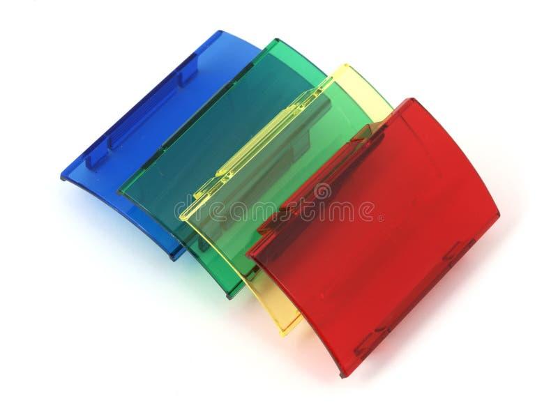 Quattro filtri fotografici da specialità fotografia stock