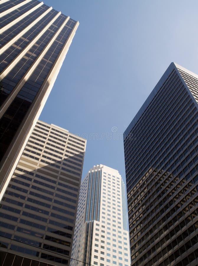 Quattro grattacieli fotografie stock libere da diritti