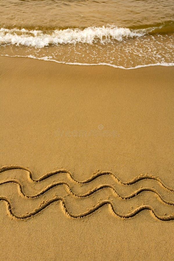 Download Quattro onde immagine stock. Immagine di oceano, estratto - 7323973