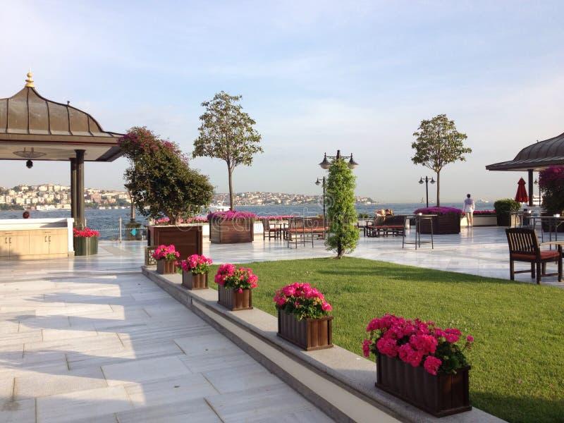 Quattro stagioni Costantinopoli immagini stock libere da diritti