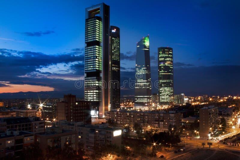 Quattro Torres immagini stock libere da diritti