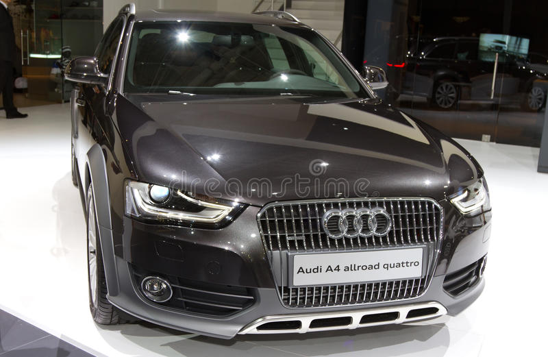 Istanboel Auto toont 2012 royalty-vrije stock fotografie
