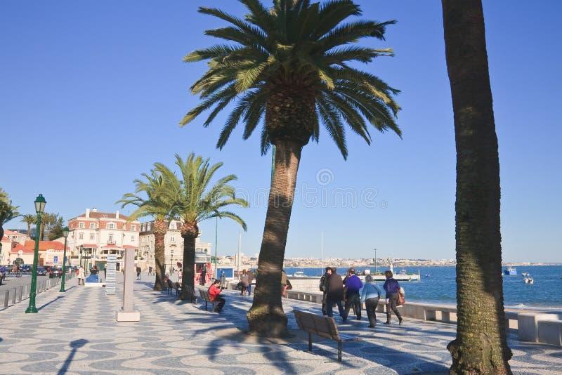 Quay. Cascais. Portugal photos stock
