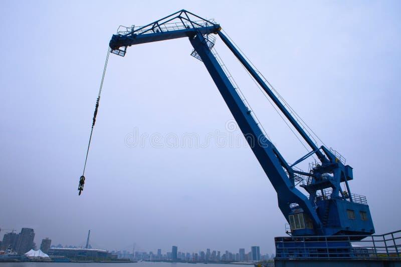 Quay Cranes Stock Photography