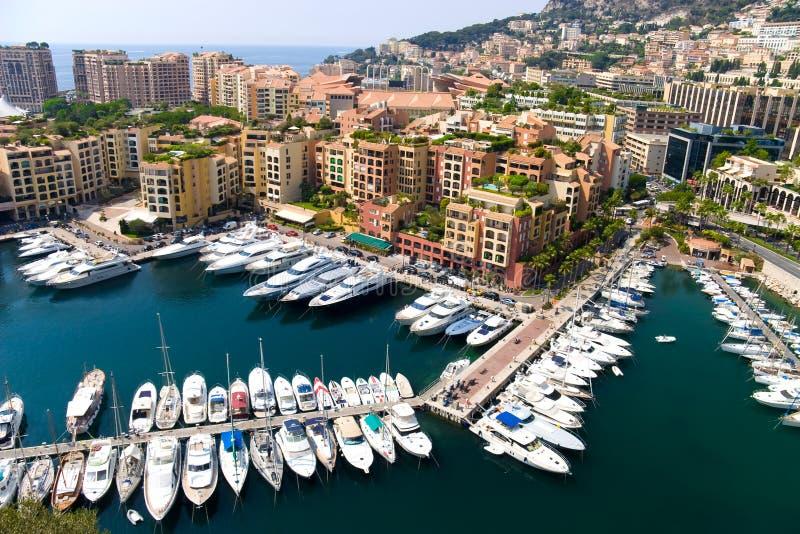 Quay em Monaco fotografia de stock