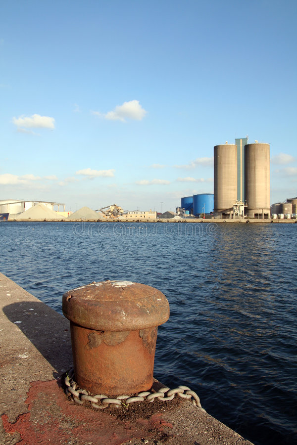 Quay Industrial royalty free stock images