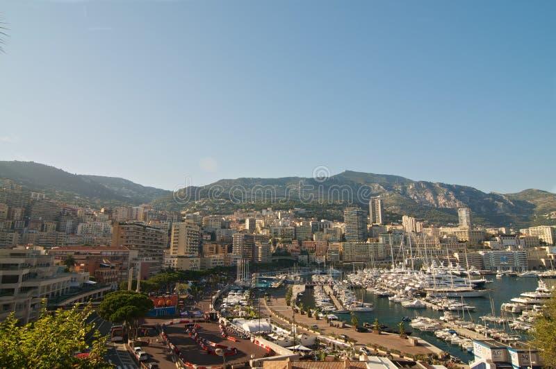 Quay Monaco fotografia stock