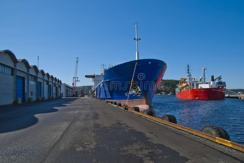 Download On The Quay In The Port Of Halden Stock Photo - Image of halden, maritime: 26511440