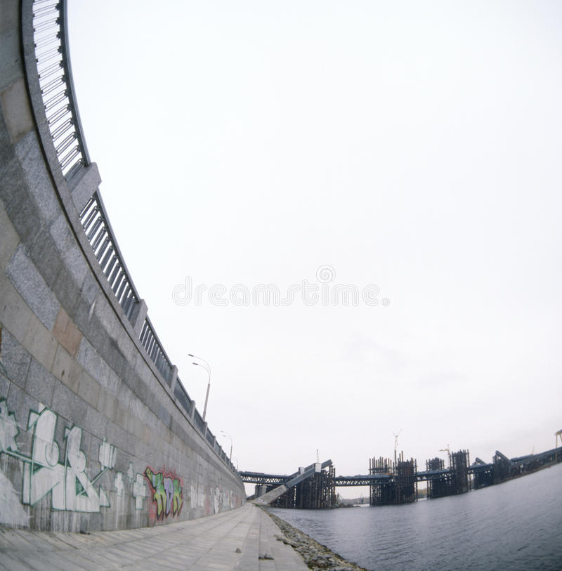 Quay Of The River. Stock Image