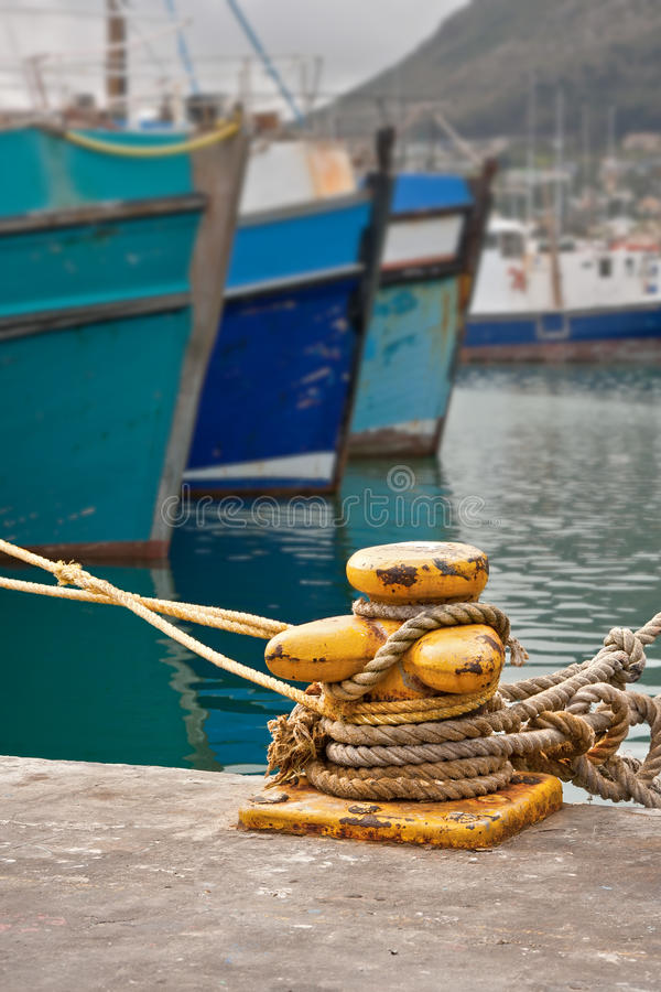 Download Quayside bollard stock photo. Image of colorful, boat - 25156222
