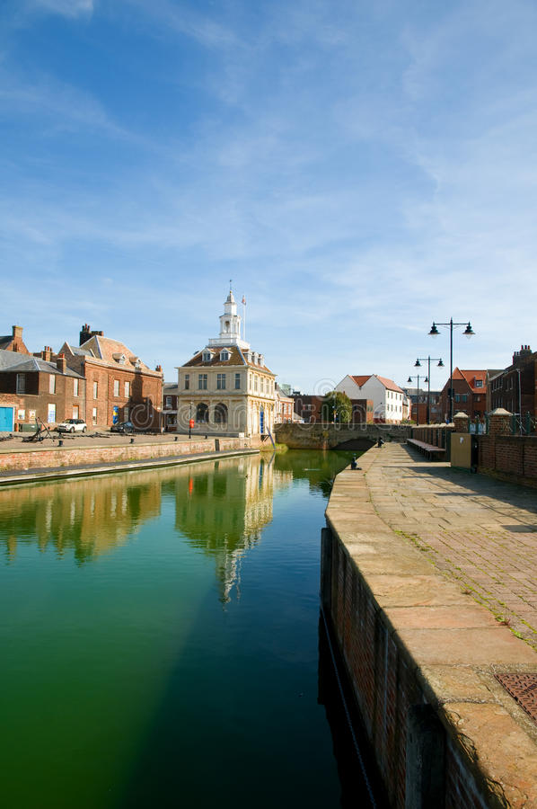 Download Quayside And The Custom House Stock Image - Image of architecture, detail: 16345823