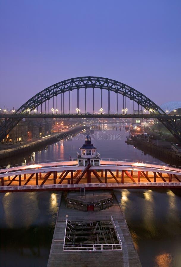 The Quayside, Newcastle Upon Tyne Stock Photo
