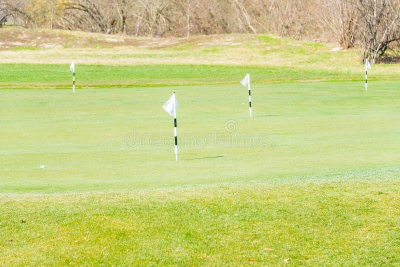 Quba - 26 mars 2015 : Terrain de golf chez Quba Rixos image stock