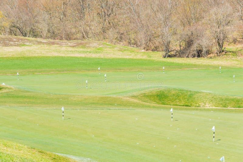 Quba - 26 mars 2015 : Terrain de golf chez Quba Rixos photographie stock libre de droits