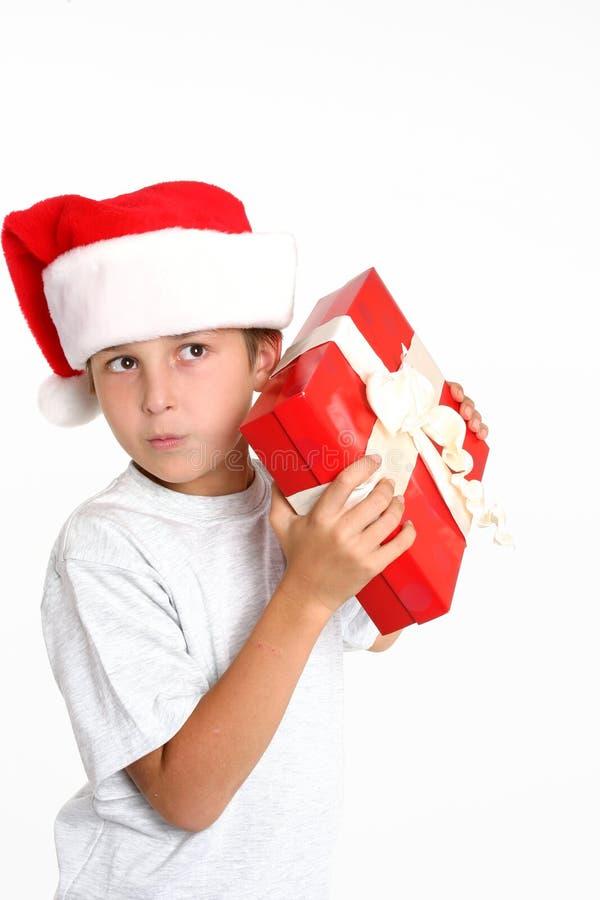 Que é para o Natal? foto de stock