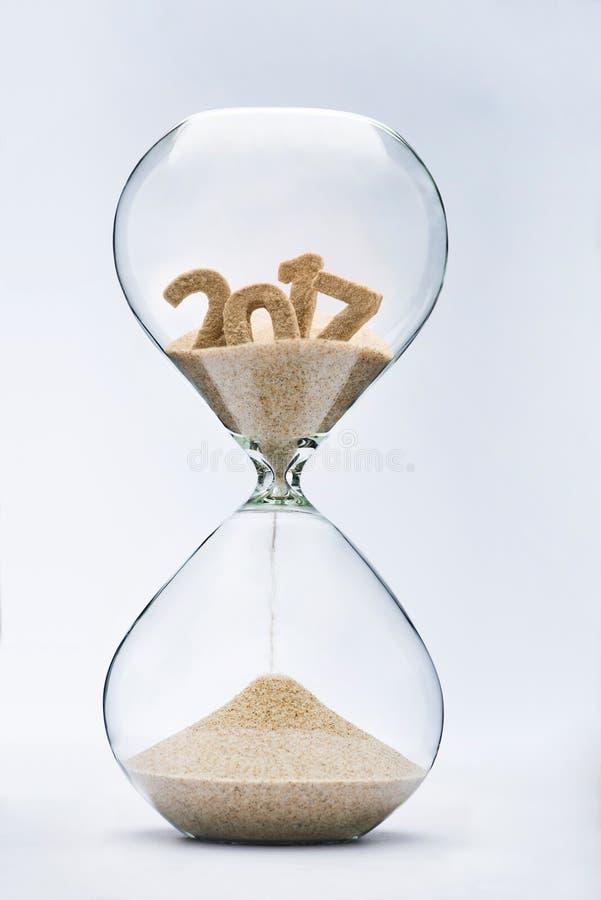 2017 que correm fora do tempo imagens de stock