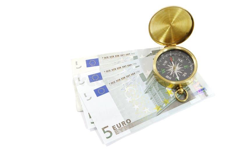 Que maneira para o euro? fotografia de stock royalty free