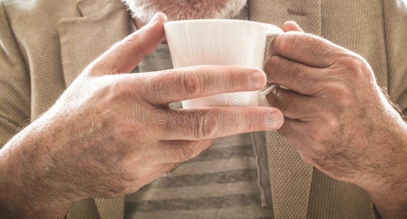 Que première tasse de café photographie stock