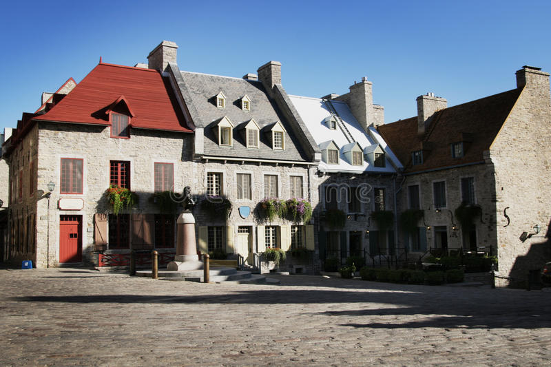 Quebec City stockfoto