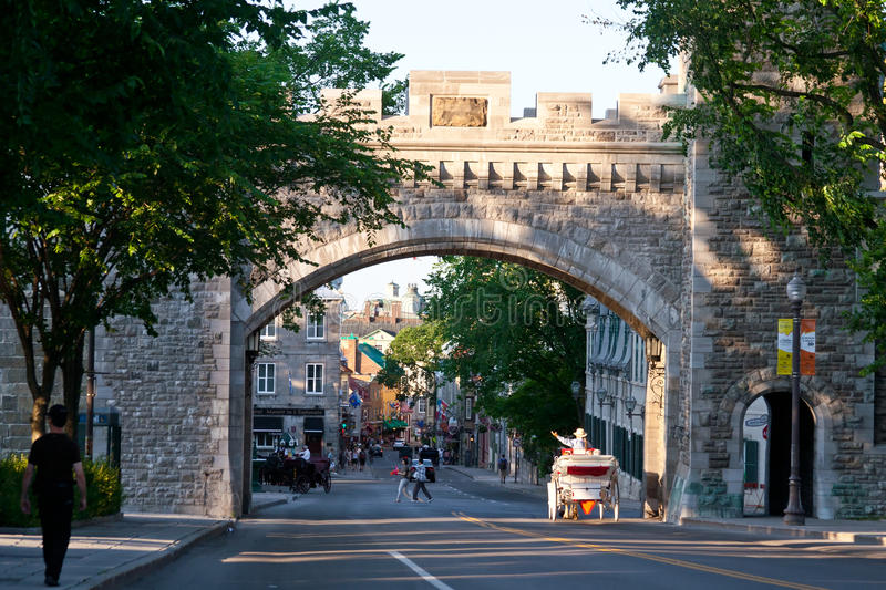 Quebec City photo stock