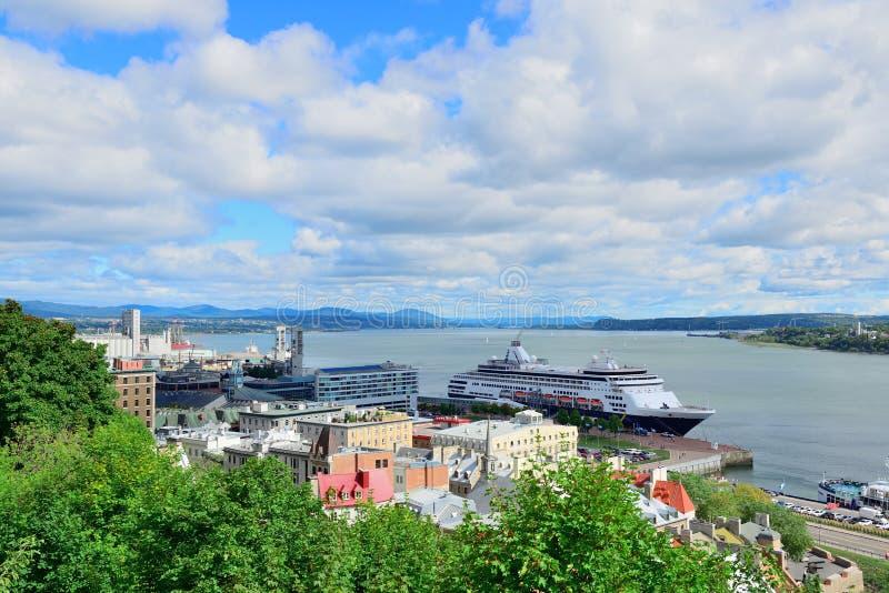 Quebec City royaltyfri fotografi