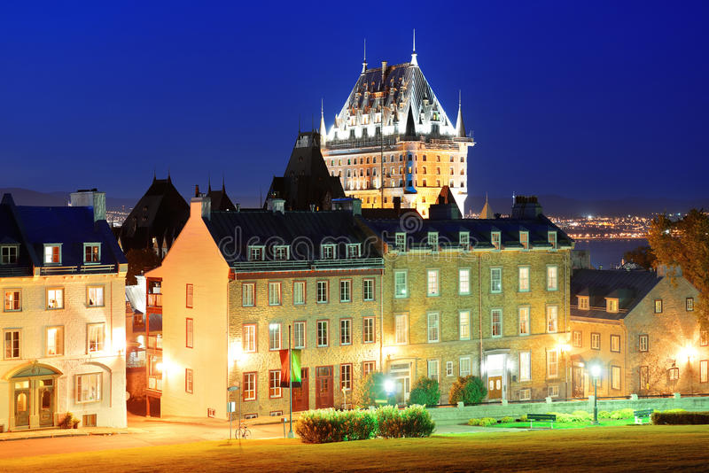 Quebec City arkivfoton