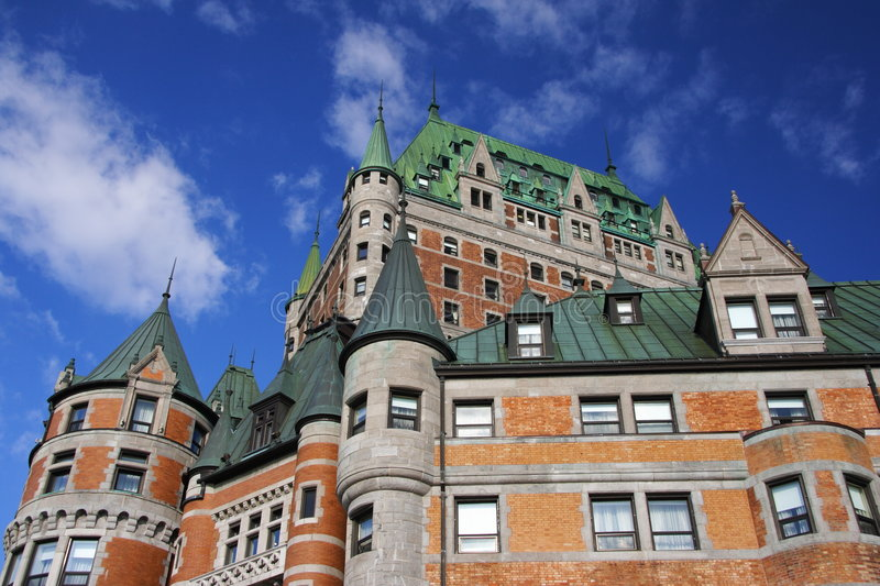 Quebec City royalty free stock photos