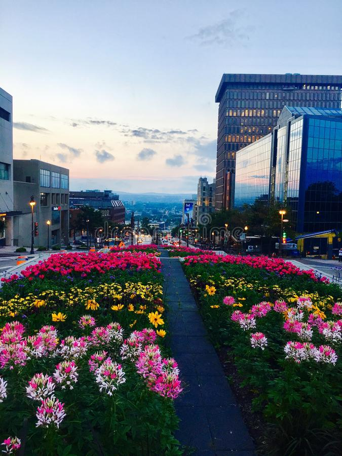 Quebec City fotos de stock