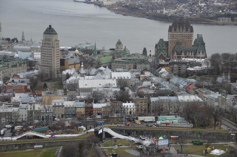 Quebec City, Canada image stock