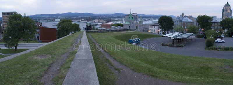Quebec City Panorama stock photos